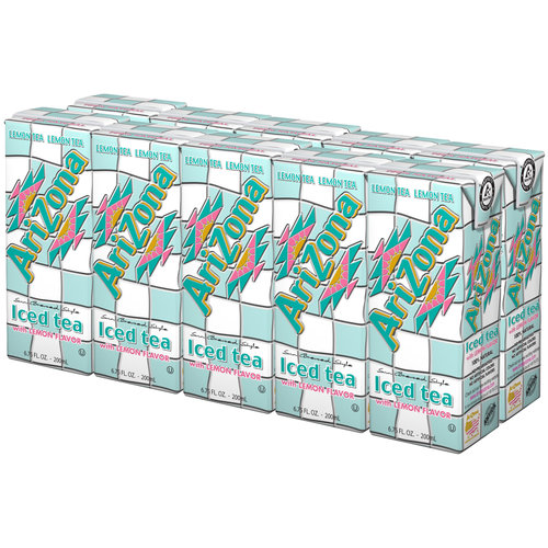 AriZona Iced Tea with Lemon Flavor, 6.75 fl oz, 10 count