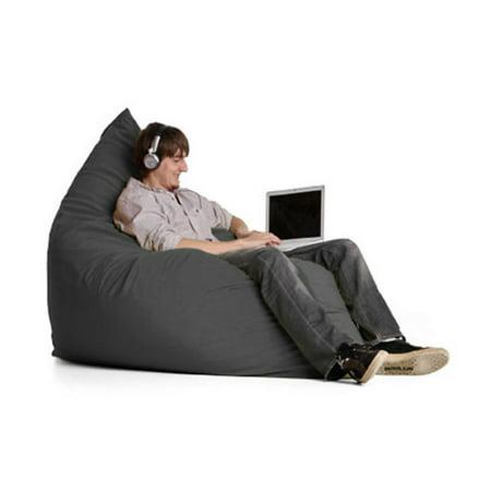 Jaxx Pillow Sac - Medium Microsuede Foam Chair