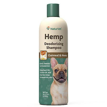 Naturvet Hemp Deodorizing Shampoo For Dogs Walmart Com
