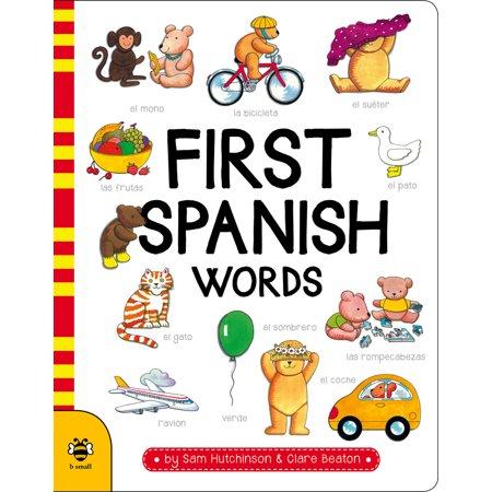 First Spanish Words (Halloween Words In Spanish)
