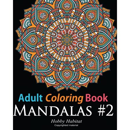 Adult Coloring Book: Mandala #2: Coloring Book for Grownups Featuring 45 Beautiful Mandala Patterns - Coloring Online For Adults
