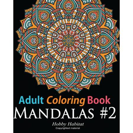 Halloween Coloring Print Pages (Adult Coloring Book: Mandala #2: Coloring Book for Grownups Featuring 45 Beautiful Mandala Patterns)