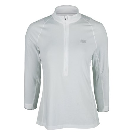 fbc87f9361c62 New Balance - Women`s Performance 3/4 Sleeve Tennis Top - Walmart.com
