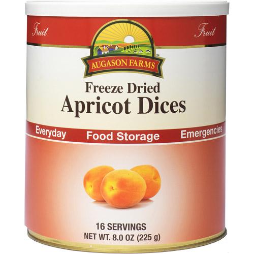 Augason Farms Freeze Dried Apricot Dices, 8 oz