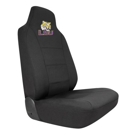 - LSU Tigers Embroidered Seat Cover Car Auto College Truck SUV CDG (Breathable & Durable)