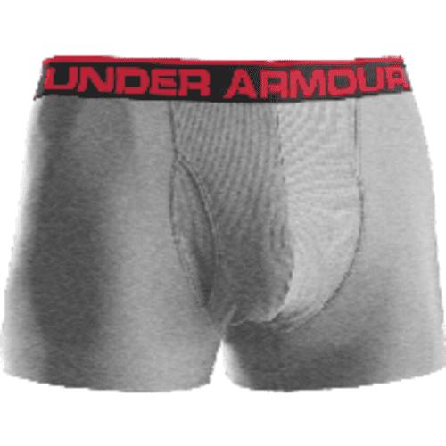 "Under Armour 1230363 Men's Gray Heather Original BoxerJock 3"" Brief - Size Small 3462-0438"