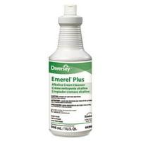 Diversey Emerel Plus Cream Cleanser, Odorless, 32 oz Squeeze Bottle, 12/Carton