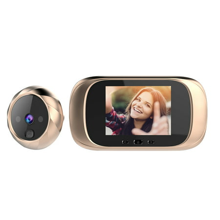 Digital Door Viewer Peephole Door Camera Doorbell 2.8-inch LCD Screen Night Vision Photo Digital Door Monitoring for Home (Hidden Camera Front Door)