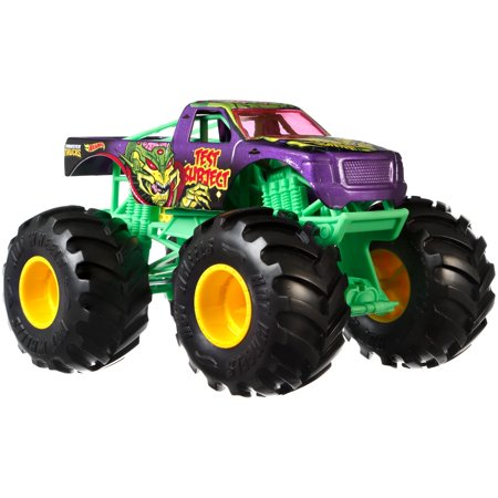 - Hot Wheels Monster Trucks 1:24 Scale Test Subject Vehicle