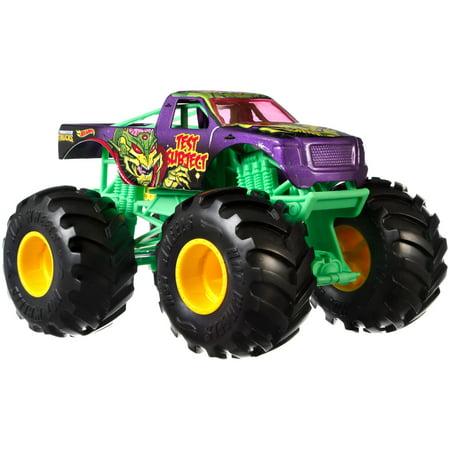 Hot Wheels Monster Trucks 1:24 Scale Test Subject Vehicle