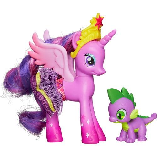 Princess Twilight Sparkle & Spike the Dragon Figure 2-Pack