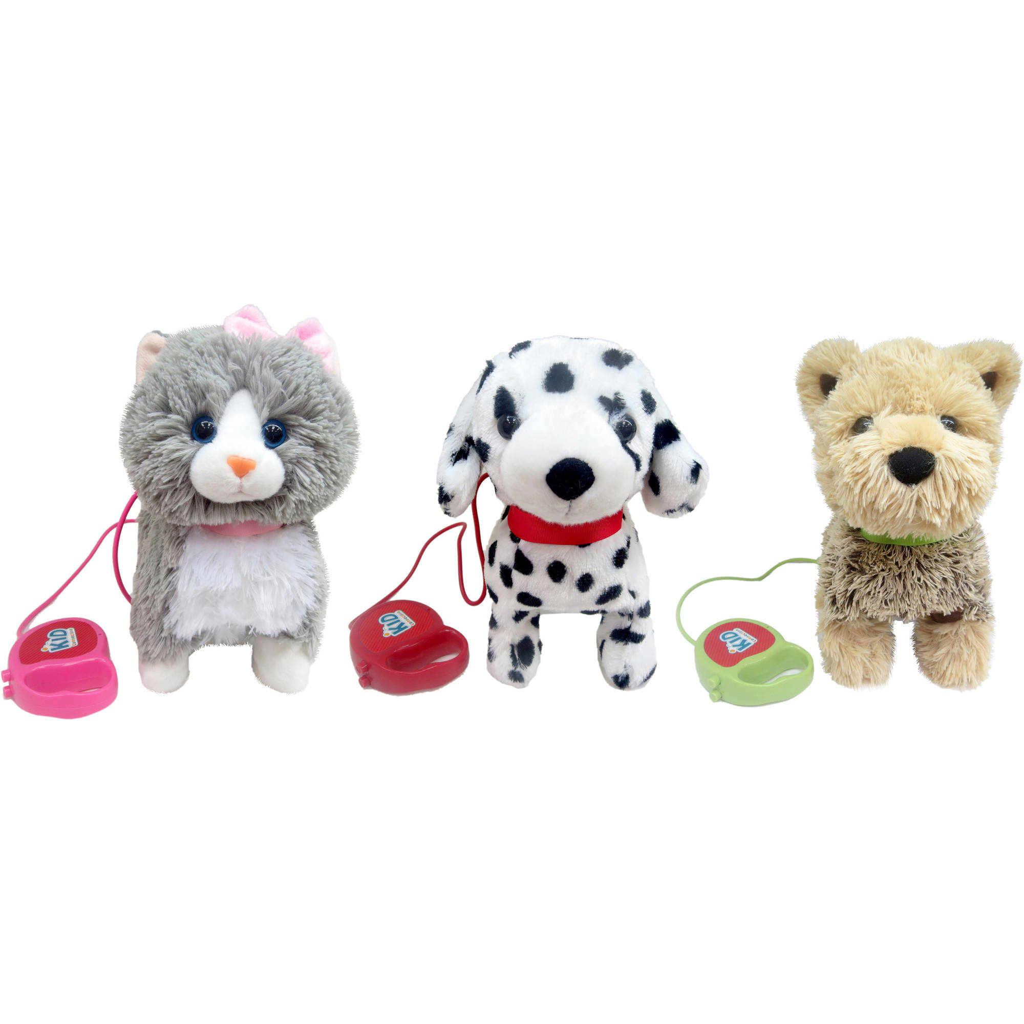 Sound and Lights Walking Pets Collection Walmart