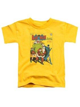 Trevco Dc-Cover No. 27 - Short Sleeve Toddler Tee - Yellow, Large 4T