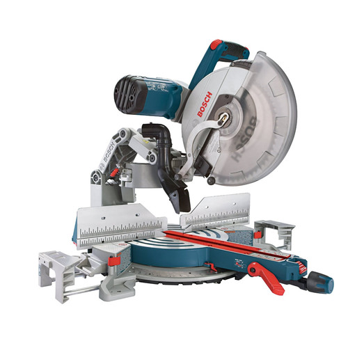 BOSCH Sliding Compound Miter Saw,27-1/6 In. L GCM12SD