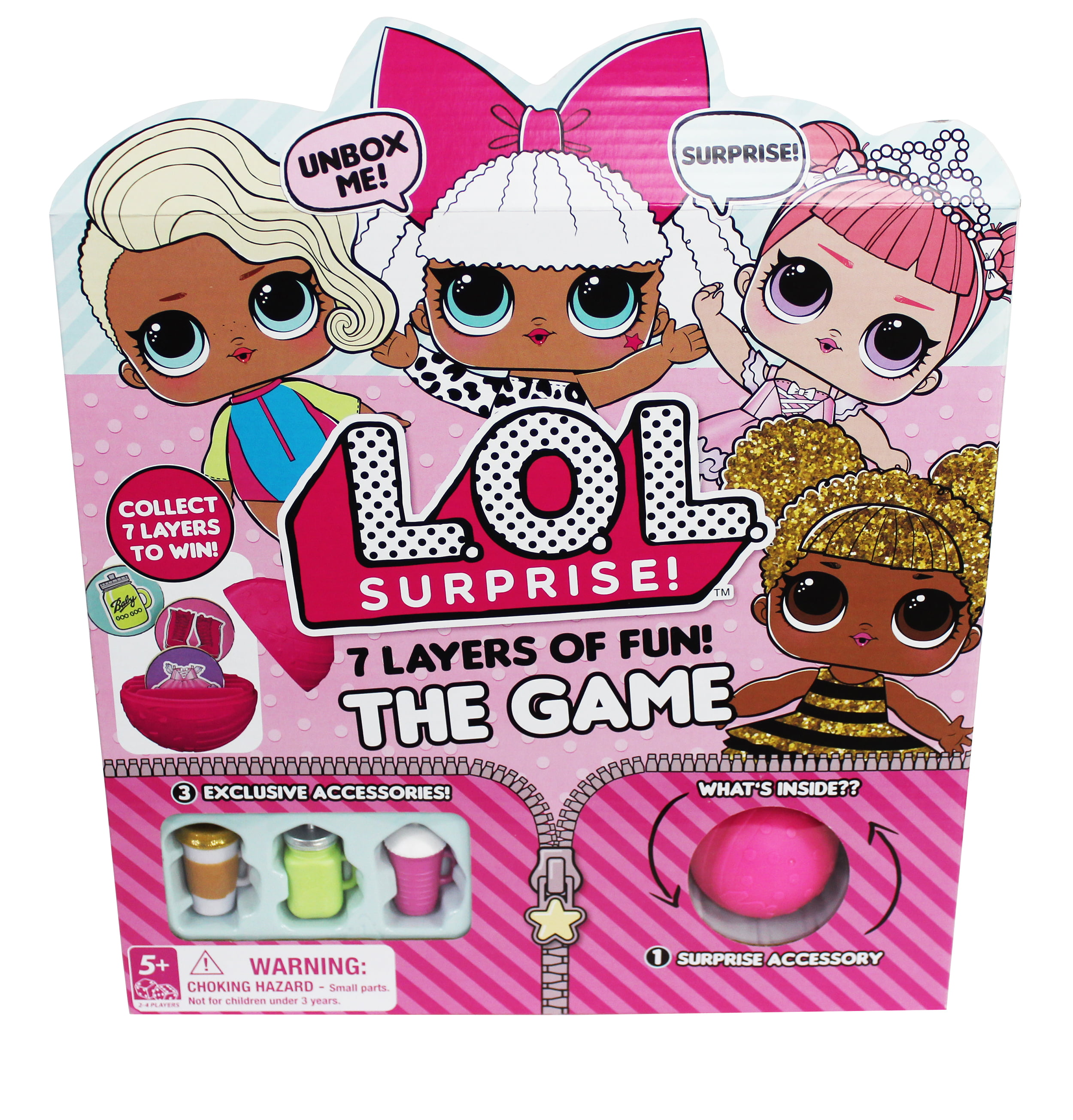 L.O.L. Surprise! 7 Layers of Fun Board Game