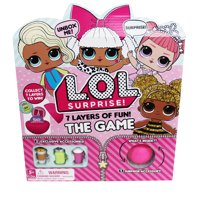 L.O.L. Surprise! 7 Layers of Fun, Board Game for Families and Kids Ages 5 and up