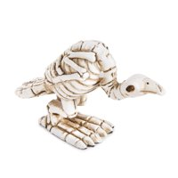 Mini Halloween Buzzard Skeleton Figurine: 1 x 1.75 inches
