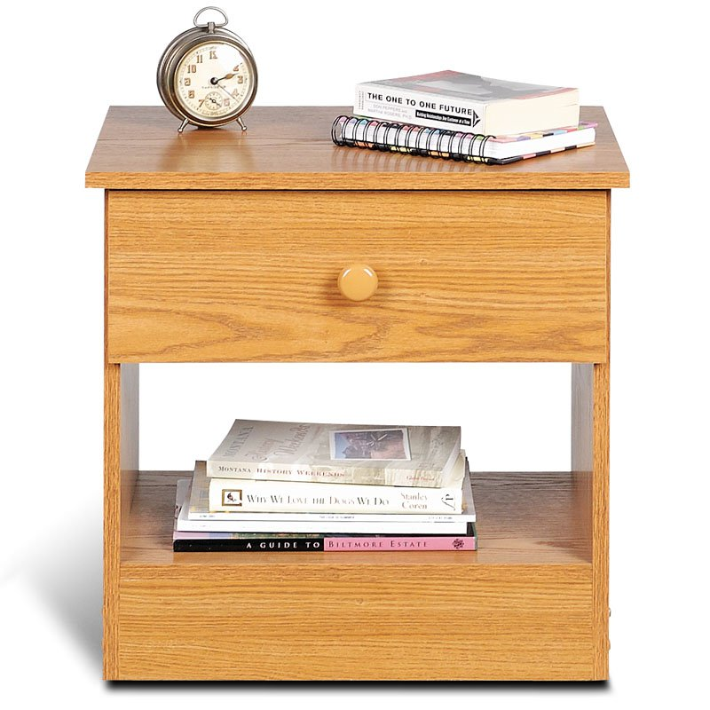Prepac Edenvale 1-Drawer Bedroom Nightstand