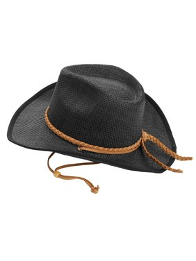516d5b12a6603 Product Image Time and Tru Women s Faux Suede Strap Cowboy Hat