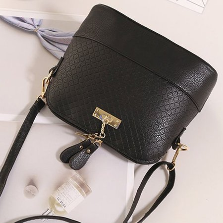 OCDAY Women All Match Clothes PU leather Single Shoulder Crossbody Bag Shell Bag - image 2 of 6