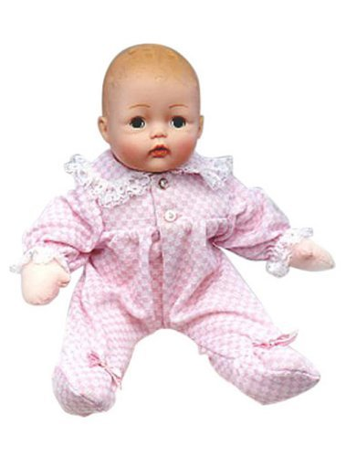 New Pink Check Huggums 12/'/' Baby Doll by Madame Alexander