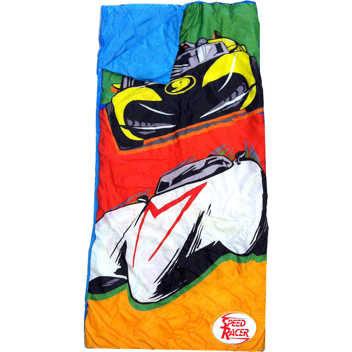 Speed Racer Slumber Bag 2pc Sleepover Backpack Set