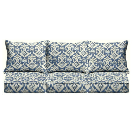 Mozaic Company Outdoor Corded Pillow and Cushion 6-Piece Sofa Set ()