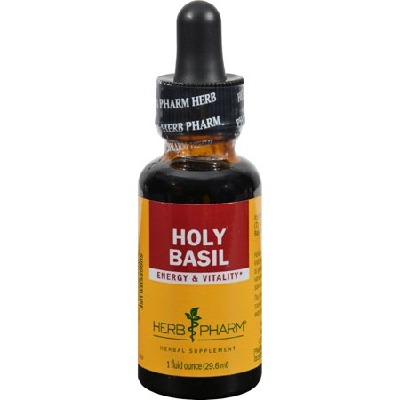 Herb Pharm Holy Basil Tulsi Liquid Herbal Extract - 1 fl oz
