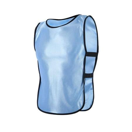 (5Colors Children Waistcoat Vest Jacket for Outdoor Sports Football Training , Football Vest, Children Sport Vest)