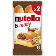 Nutella B-ready Wafer filled with Nutella, (2x22g) 44 g