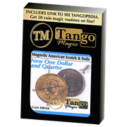 American Scotch & Soda (D0124)(MAGNETIC) by Tango Magic - Tricks