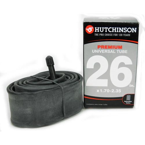 """Hutchinson 26"""" Schrader Valve Bike Tube, 26"""" x 1.70""""-2.35"""""""