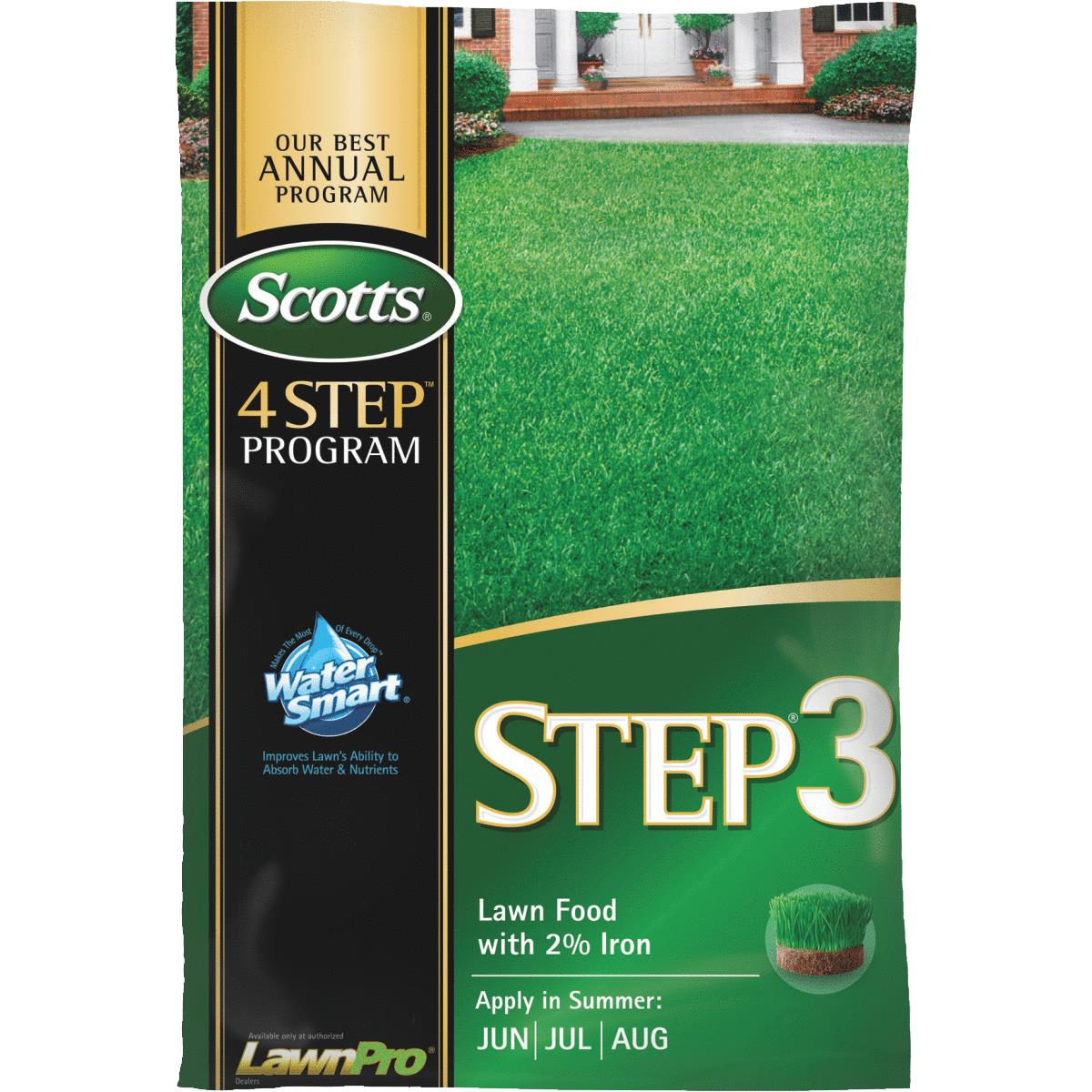 Scotts 4-Step Program Step 3 Lawn Fertilizer With 2% Iron