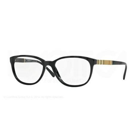 BURBERRY Eyeglasses BE2172 3001 Black 52MM