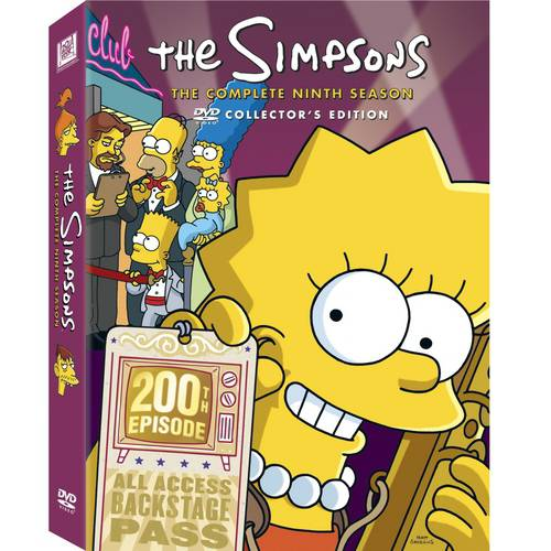 SIMPSONS SEASON 9 (DVD/4 DISCS/SAC/P&S/RE-PKGD)