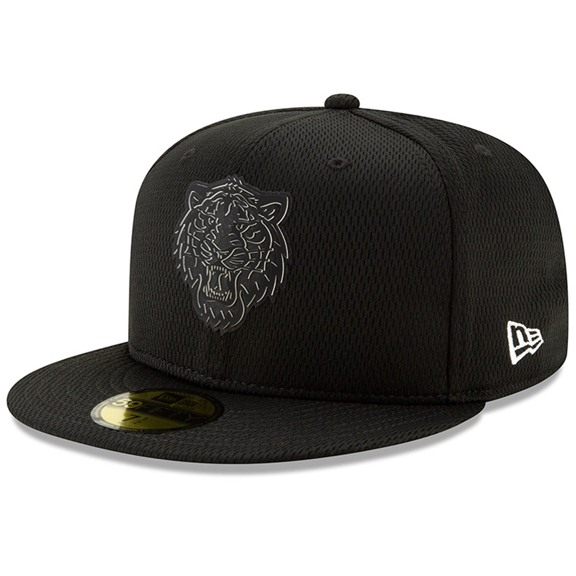Detroit Tigers New Era Clubhouse Collection 59FIFTY Fitted Hat - Black