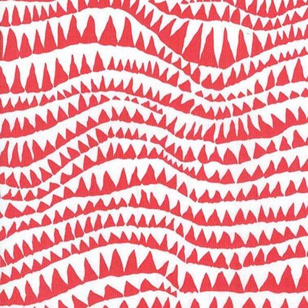 Free Spirit Fabrics Kaffe Fasset Fabrics Spring 2017 Collective Red Sharks Teeth