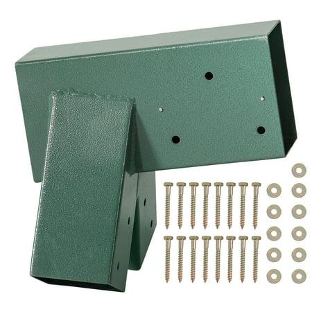 Swingan - A-Frame Bracket - Green Powder Coating - Bolts Included