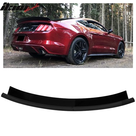 Mustang Wing (Fits 15-19 Ford Mustang Trunk Spoiler Wing Glossy Black ABS)