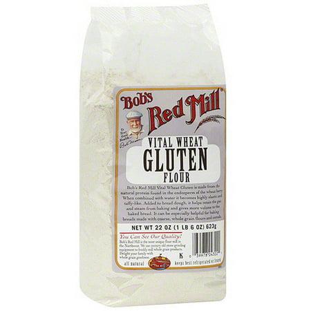 Bob's Red Mill Vital Wheat Gluten Flour, 22 oz (Pack of 4)