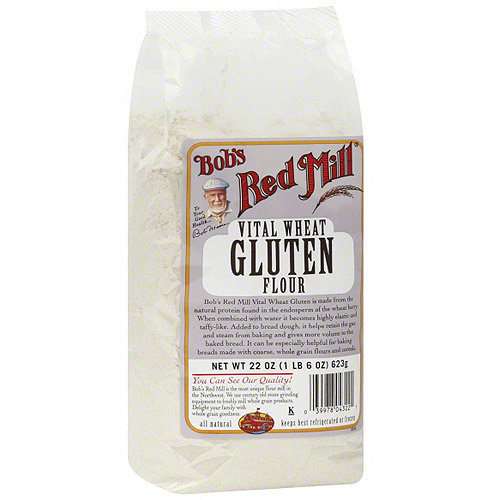 Bob's Red Mill Vital Wheat Gluten Flour, 22 oz (Pack of 4)