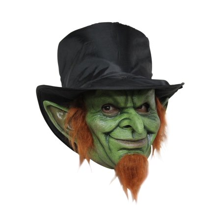 Leprechaun Mad Goblin Halloween Costume Mask