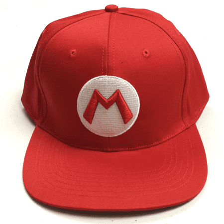 Mario Baseball Cap High Quality Hat Super Mario Bros Costume Nintendo Kart Gift](Mario Bros Hat)
