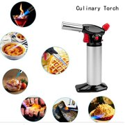 Culinary Torch Best CremeBrulee Torch Food Cooking Torch for Kitchen & Baking Use Blow Torch for Soldering
