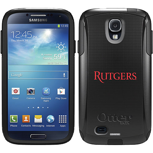 Rutgers Design on OtterBox Commuter Series Case for Samsung Galaxy S4