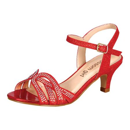 Red Sparkle Shoes Walmart