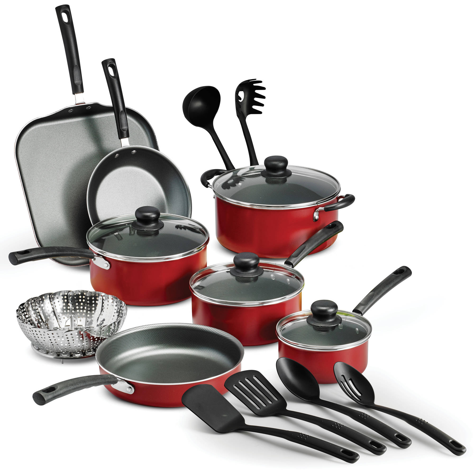 Tramontina PrimaWare 18-Piece Nonstick Cookware Set