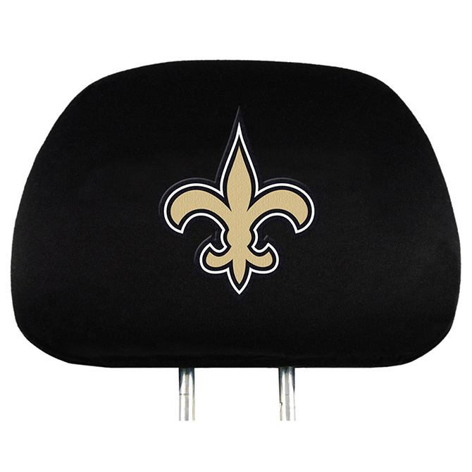 NFL New Orleans Saints Headrest Covers