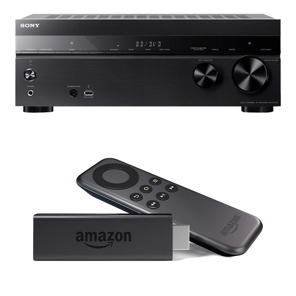 Sony 7.2 Channel Home Theater AV Receiver w/ Amazon Fire TV Stick