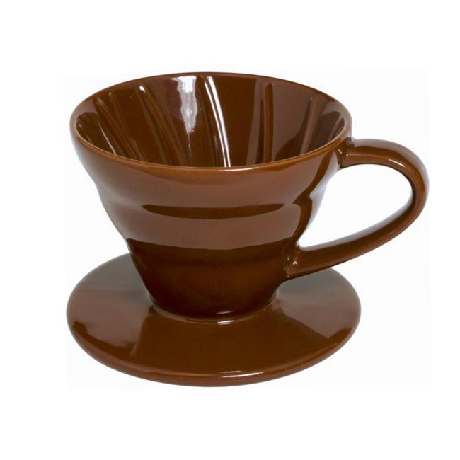 Supreme Housewares 71260 Ceramic 2-4 Cup Coffee Dripper, Brown - Pack of 24